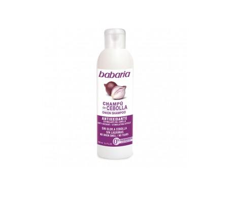 Babaria Cipolla Shampoo Inodoro 100ml