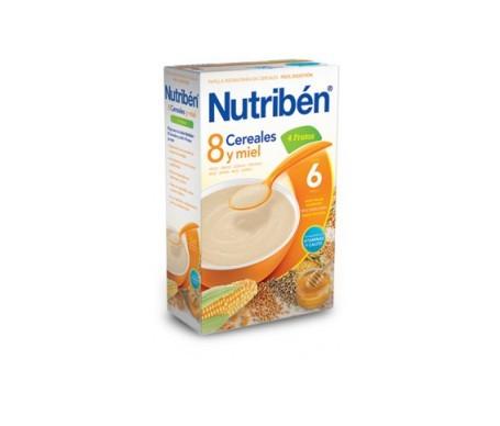 Nutribén® 8 cereales con miel y 4 frutas 600g