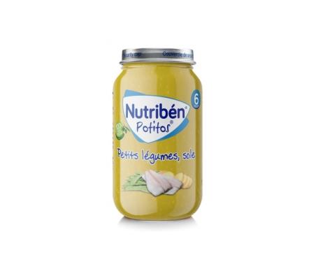 Nutribén® verdura selecta y  lenguado 250g