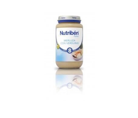 Nutribén® Potito® merluza y verduras 250g