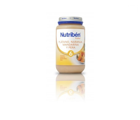 Nutribén® Potito® plátano mandarina naranja y pera 250g