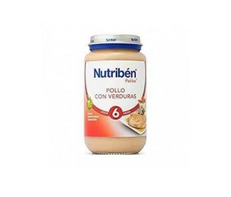 Nutribén® Potito® pollo y verduras 250g