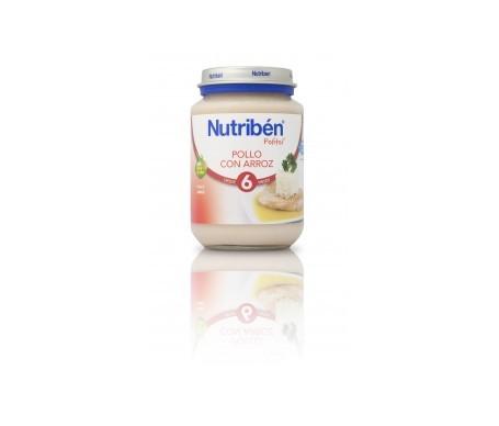 Nutribén® Potito® pollo y arroz 200g