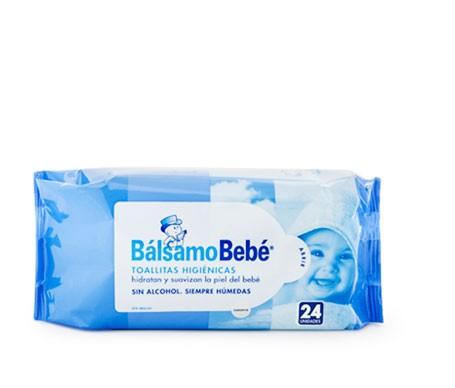BálsamoBebé® toallitas higiénicas 24uds