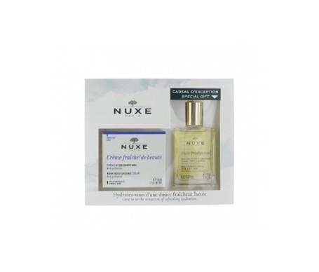 Nuxe Coffret Crème FraÌ™che de Beauté 50ml and Oil 30ml