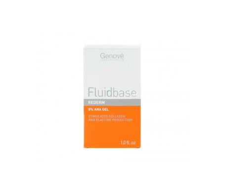 Rederm a base fluida Genové 8% Gel AHA 30ml