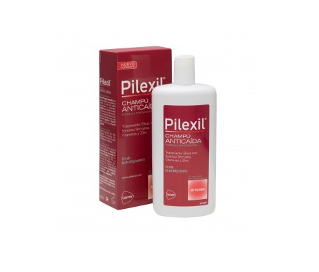 It helps slow hair loss with saw palmetto extract and zinc