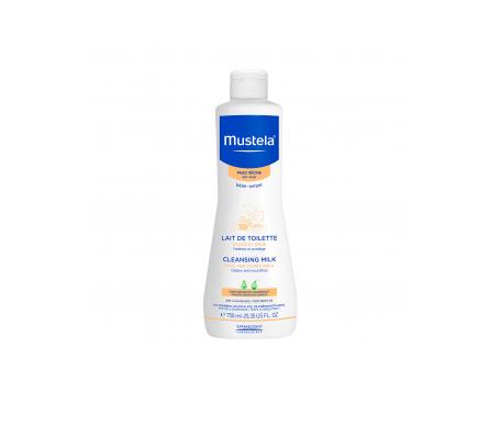 Mustela loción hidratante y limpiadora 750ml