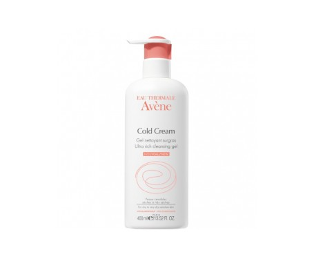 Avène Cold Cream gel limpiador 400ml