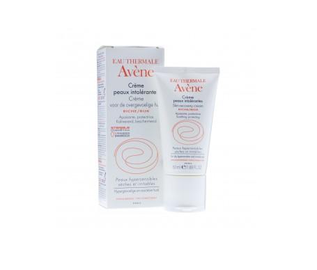 Avène crema pieles intolerantes enriquecida 50ml