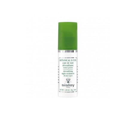 Sisley Botanical D-tox Cure De Nuit Toutes Peaux 30ml