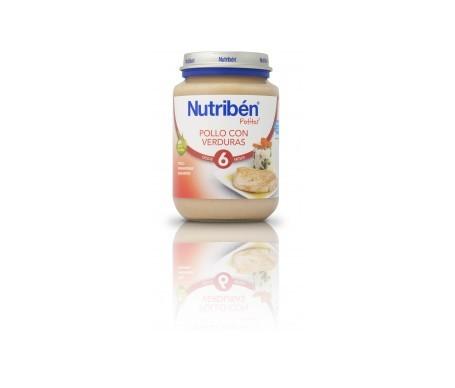 Nutribén® Potito® pollo y verduras 200g
