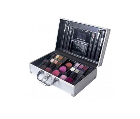 Markwins Color Workshop Makeup Maletin Plateado 44 Sombras De Oj