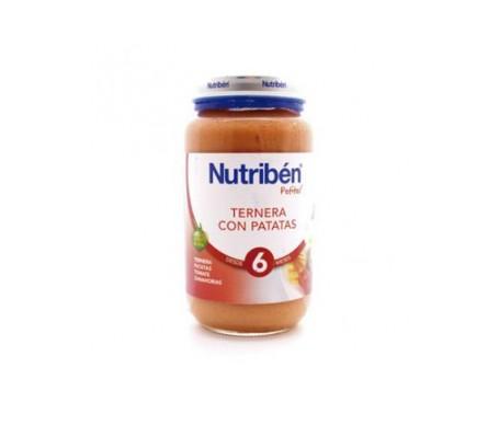 Nutribén® Potito® ternera y patata 250g