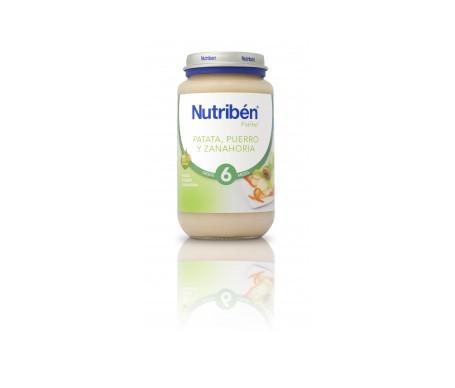 Nutribén® Potito® patata puerro y zanahoria 250g