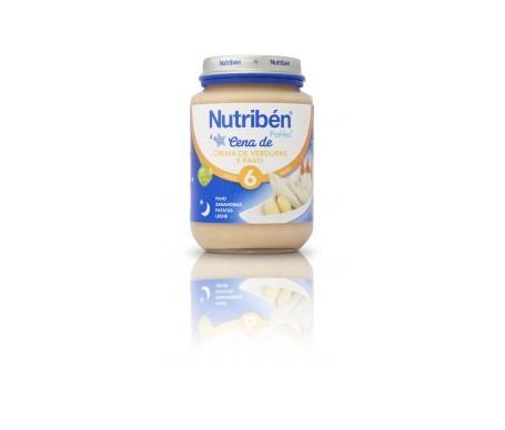 Nutribén® cena crema de verduras y pavo 200g