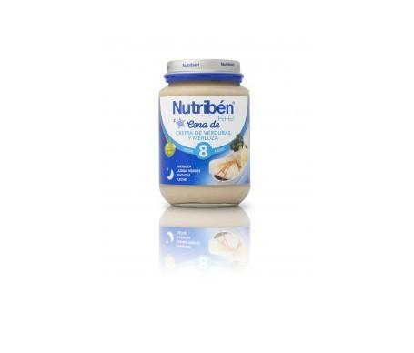 Nutribén® cena crema de verduras y merluza 200g