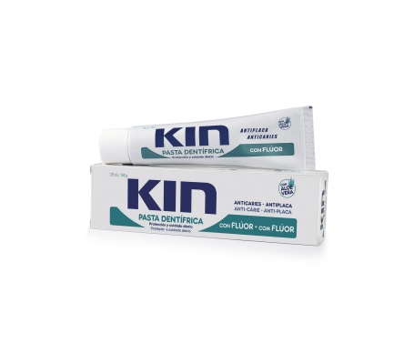 Kin pasta dental con flúor y aloe vera 125ml