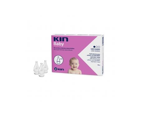 Kin Baby Nasal recambio blando 10uds