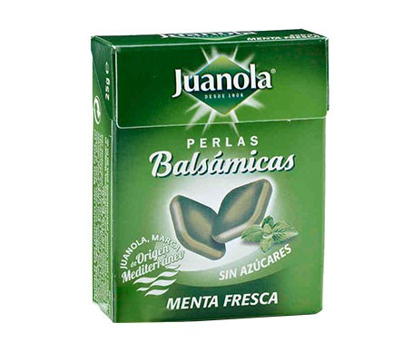 Juanola® perlas balsámicas sabor menta 25g
