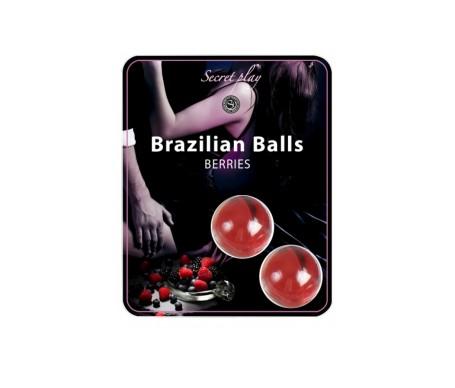Secret Play Set 2 Brazilian Balls Aroma F. Bosque 8 Gr