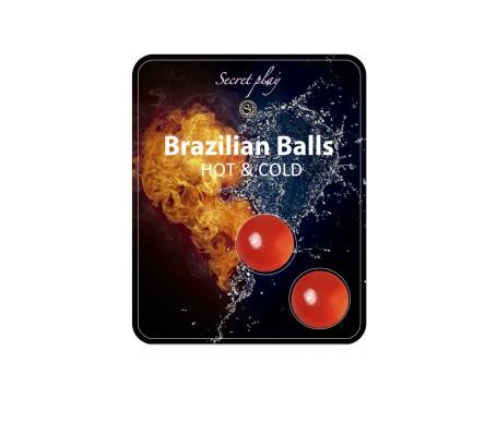 Secret Play Set 2 Brazilian Balls Frio Calor 8 Gr