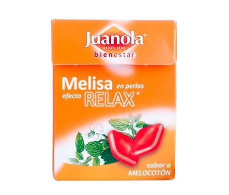 Juanola® perlas melisa sabor melocotón 25g