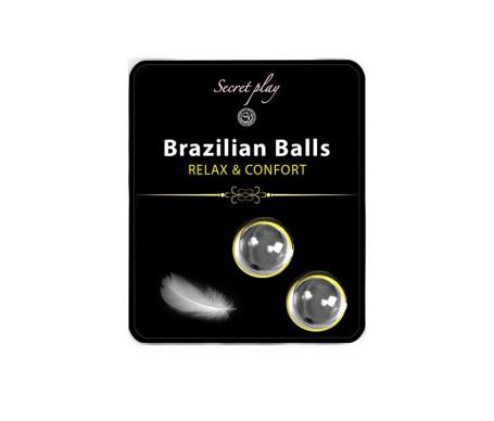 Secret Play Set 2 Brazilian Balls Relax Y Confort 8 Gr