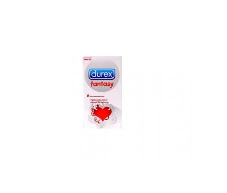 Durex® Fantasy preservativos 8uds