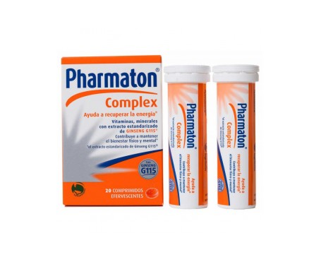 Pharmaton® Complex 20comp efervescentes