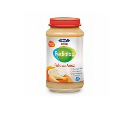 Hero Baby Pedialac tarrito de pollo con arroz 250g