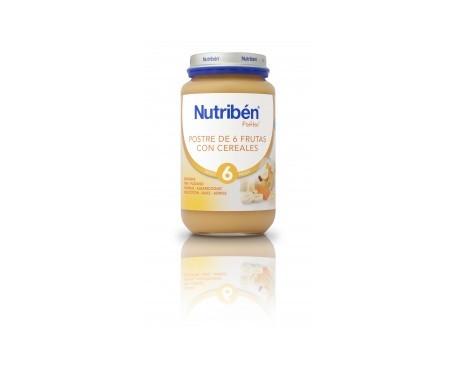 Nutribén® Potito® 6 frutas y cereales 250g