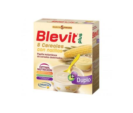 Blevit® 8 cereales con natillas 600g
