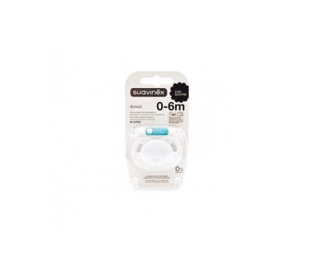 Suavinex® chupete dental tetina silicona +6 Meses 1ud