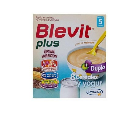 Blevit® Plus 8 cereales y yogur 600g