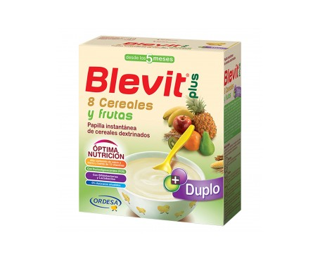 Blevit® plus 8 cereales y fruta 600g