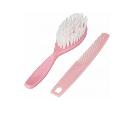 Suavinex® set cepillo y peine rosa