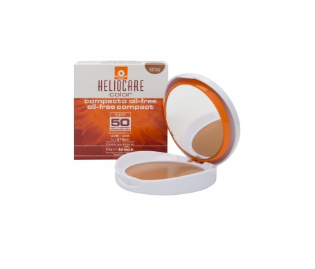 Heliocare Color Compacto SPF50+ oil-free brown 10g