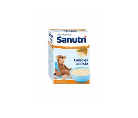 Sanutri cereales de inicio sin gluten 600g