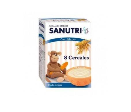 Sanutri 8 cereales 600g