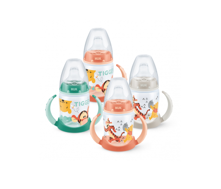 Nuk® biberón entrena Disney boquilla silicona talla 2 150ml 1ud