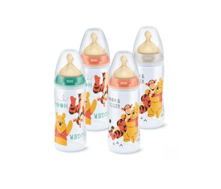 Nuk® biberón Disney Winnie tetina látex orificio M talla 1 300ml 1ud