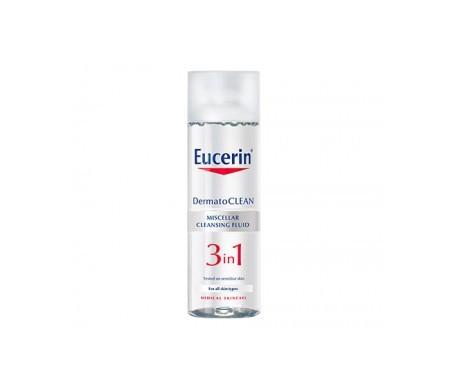 Eucerin® Dermatoclean 3 en 1 solución micelar limpiadora 200ml