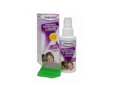 Paranix tratamiento antipiojos y liendres spray 60ml + peine