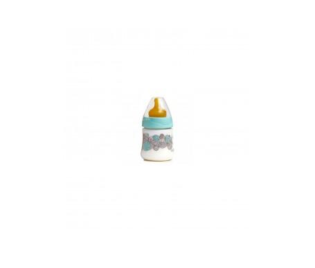 Suavinex®  biberón tetina látex boca ancha 3 posiciones talla  1 150ml